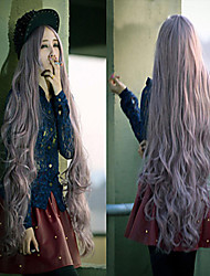 Cosplay Hot Models a Long Section of High-quality Synthetic Long Curly Wig High Temperature Wire Hair