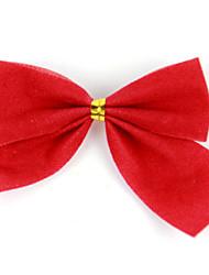 tre natale rosso farfallino