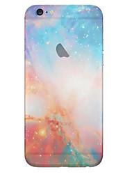 iphone 7 плюс близко звездное полупрозрачный небо TPU мягкий чехол для Iphone 6с 6 плюс