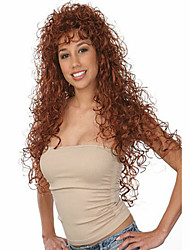 Brown Color Wig Curly Fashion Wig Long Brown With TOP Quality Hair Wigs