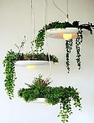 E27 40*20CM Led Aluminum Droplight Nordic Creative Contracted Sky Garden Lamps And Lanterns Led Light No Soil Plant