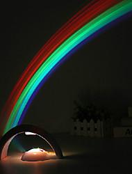 1w Творческий USB cromantic звездное небо проекции радуги светодиодная лампа действует ночник 23 * 11,5 * 12,5 см 220В абс