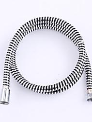 """ENZORODI 1.5M(59 inch) G1/2"""" Hand Shower Hose PVC,Anti-Burst Anti-High Temperature,Stripe,ERP7233CP"""