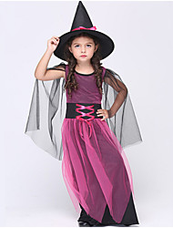 Halloween / Christmas / Carnival / Children's Day / New Year Kid Movie & TV Theme Costumes / Wizard Costumes Dress / Hat