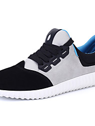 Men's Running Shoes Suede / Canvas / Tulle Black / Gray