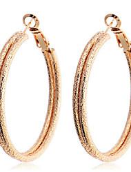 Boucles d'oreille gitane ( Plaqué argent / Plaqué or ) Soirée / Quotidien / Casual