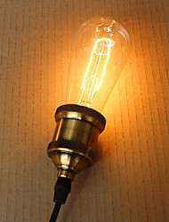 E27 40W  ST64 Leaves Edison Light Bulb