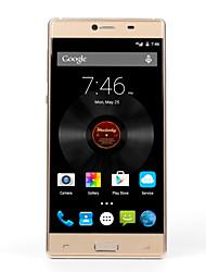"""Elefono MTK6753 5.5 """" Android 5.1 Smartphone 4G (Due SIM Octa Core 13 MP 3GB + 32 GB Nero / Oro)"""