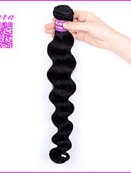 "1Pcs Unprocessed Malaysian Virgin Hair Loose Curly Malaysian Loose Wave 10""-30""Malaysian Human Hair Weave Bundles"