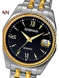 EASMAN® Watch Men Brand Big Quartz Watches For Mens Sapphire Steel Men Fashion Wristwatches Designer Luxury Men Watch Cool Watch Unique Watch