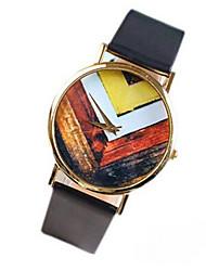 Vintage Geometric Pattern Watch For Women Quartz Watches Cool Watches Unique Watches