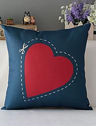 "43cm*43cm 17""*17"" Poster Edward Scissorhands Cotton / Linen Cotton&linen Pillow Cover / Throw Pillow With No Insert"