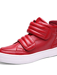 Men's British Hip-Hop Shoes Outdoor / Office & Career / Athletic / Casual Synthetic Fashion Sneakers Black / Blue / Red
