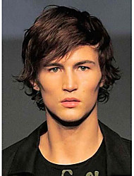 New Trend Carefree Hand Tied-Top Human Virgin Remy Hair Capless Short Men's Wigs