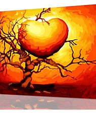 DIY digitales Ölgemälde Frame Familie Spaß Malerei alle von mir lieben x5028