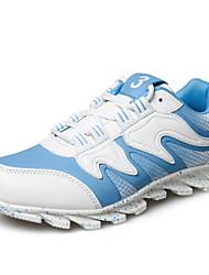 Беговая обувь Черный / Синий Обувь Мужской Синтетика