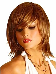 New Arrival Charming Brown Syntheic Wig High Quality Women Lady  Wigs