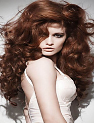 Beautiful Women Lady Long Synthetic Wigs  To European And America In Stock