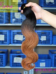 Ombre Malaysisches Haar Große Wellen 12 Monate 1 Stück Haar webt