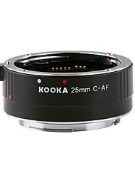 KOOKA KK-C25 Extension Tube 3.5mm Input with Auto-Focus TTL Explosion for Canon EF&EF-S SLR Cameras