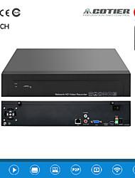 cotier®9ch 1,5U 2HDD porto / 960p / hd / p2p nuvola / NVR N9 / 1,5 U-2h
