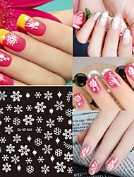 1pcs Nail Sticker Art Autocollants 3D pour ongles Maquillage cosmétique Nail Art Design
