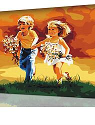 DIY digitales Ölgemälde Frame Familie Spaß Malerei alle von mir mommo x5074