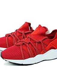 Chaussures Noir / Rouge Tulle Course à Pied Homme