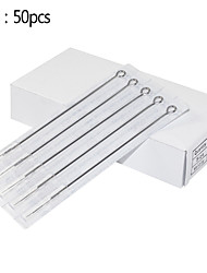 50pcs 4rl Round Liner Stainless Steel Needles Tattoo Sizes for Tattooing