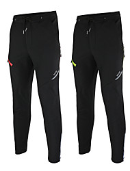 Arsuxeo Cycling Pants Men's Bike Pants/Trousers/Overtrousers Bottoms Waterproof Thermal / Warm Windproof Fleece Lining Reflective Strips