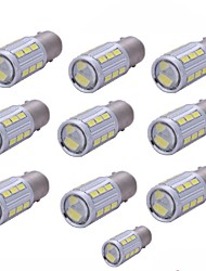 10PCS 1156 1157 5730 21SMD White DC10-30V For Turn Signal Brake Lights