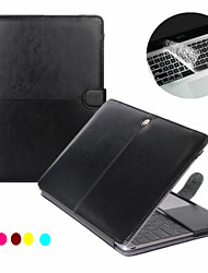 "Case for Macbook Pro 13.3""/15.4"" with Retina display Business Solid Color Laptop Case Cover + Transparent Keyboard Cover Protecter"