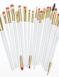 20 Conjuntos de pincel Escova de Nailom Profissional / Cobertura Total / Ecológico Madeira Rosto Outros