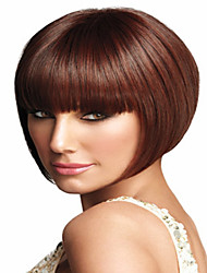 Most Popular Women Lady To European And America Wine Rwd Synthetic Wigs Extensions