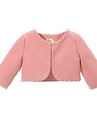 Girl's Pink / White Tank & Cami , Dresswear Cotton Summer / Spring / Fall