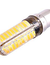 12W BA15D LED à Double Broches T 80 SMD 5730 1200 lm Blanc Chaud Blanc Froid Gradable Décorative AC 110-130 V 1 pièce