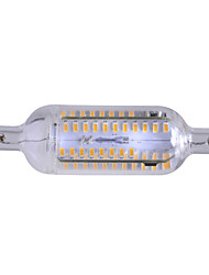 Marsing® R7S Dimmable 7W 700lm 3500K 76-SMD 4014 LED Warm White Light Bulb Lamp (AC 220-240V)