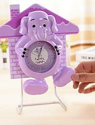 rt fogão placa home balançar relógio elefante