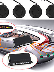 """Click to view larger imageDetails about  Car LED Display Parking Reverse Backup Radar w/4 Sensor"""