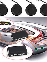 """""""Cliquez pour agrandir imagedetails propos voiture conduit un parking d'affichage radar inverse de sauvegarde w / 4 capteurs"""""""