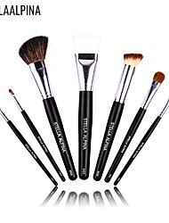 Stellaalpina 7 Contour Brush / Makeup Brushes Set / Eyeshadow Brush / Lip Brush / Brow Brush / Eyeliner Brush