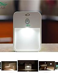 Zweihnder @ 1PCS LED human body induction nightlight battery lamp light control Nightlight creative light