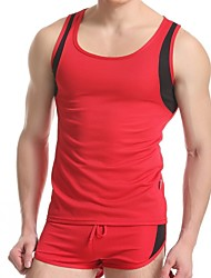 Bike/Cycling Vest/Gilet / Tops Men's Sleeveless Breathable / Quick Dry Cotton White / Red / Gray / Black M / L / XLTaekwondo / Climbing /