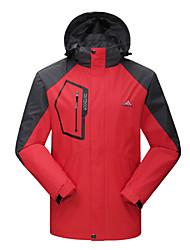 JISNEYMen's Long Sleeve Regular Trench coat , Nylon Pure Couples ski-wear, Outdoor wind hooded clothing