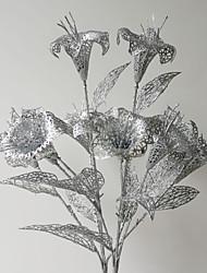Plastique Lis Fleurs artificielles