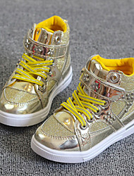 Girls' Shoes Casual Closed Toe  Fashion Sneakers Gold