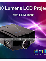 WXGA LCD Home Theater Business Projector 3000 Lumens with HDMI Input  (1280x800)
