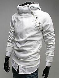 Повседневный - MEN - Толстовки ( Смешанная хлопковая ткань Толстовка - Длинный рукав