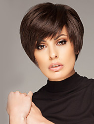 Inexpensive Short Straight Human Virgin Remy Hair Hand Tied Top Female Capless Wig