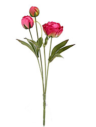 4  Head/Branch Little Peony Upscale Artificial Flower